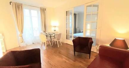 Location meublée appartement 2pièces 50m² Paris 5E - 1.930€