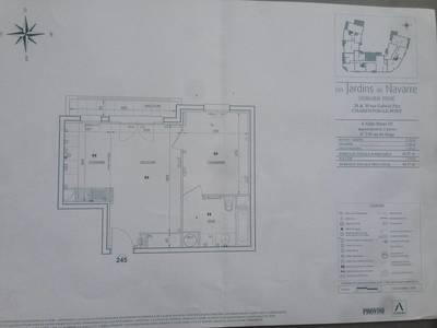 Location appartement 2pi�ces 41m� Charenton-Le-Pont (94220) - 1.100€