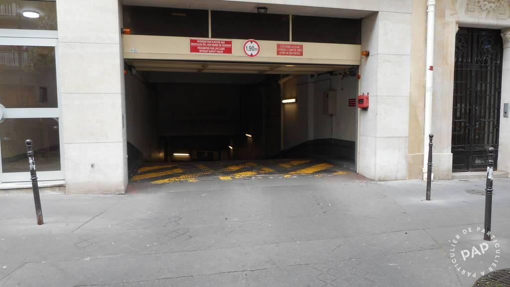 Location garage parking paris 16e 180 e de for Garage paris 16