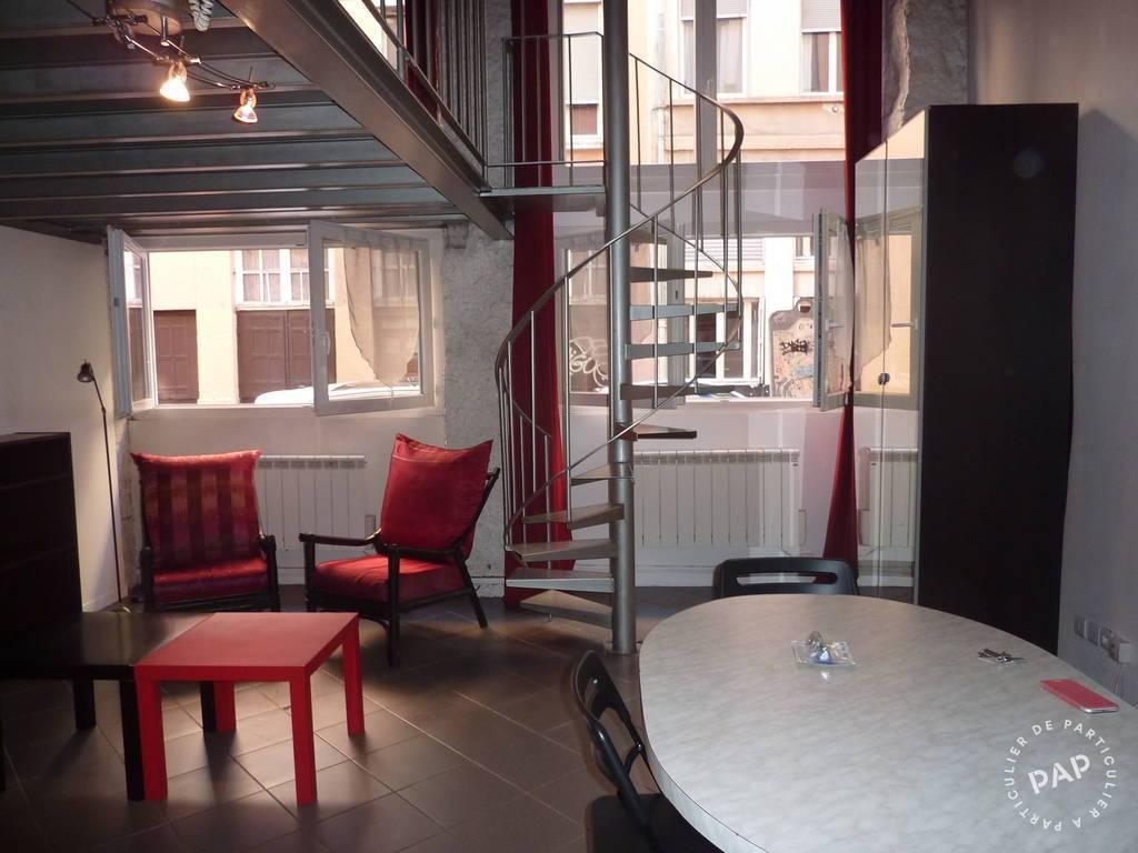 Location meublée appartement 2 pièces 51 m² Lyon 4E 51