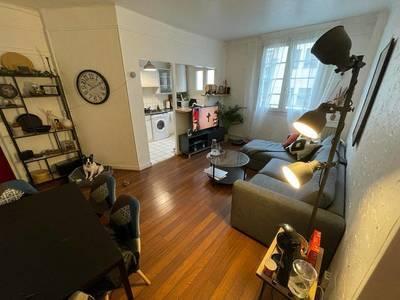 Location meublée appartement 2pièces 45m² Boulogne-Billancourt (92100) - 1.350€