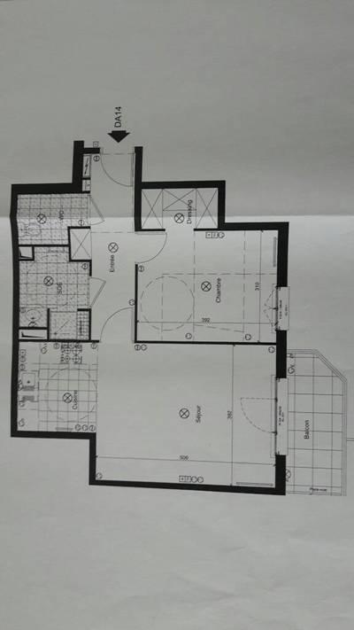 Location appartement 2pi�ces 55m� La Garenne-Colombes (92250) - 1.050€