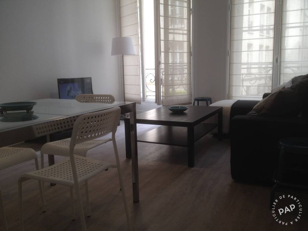 Location meubl e appartement 2 pi ces 48 m paris 1er 48 for Location studio meuble paris