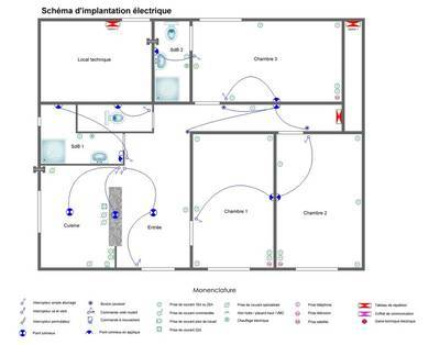 Location meubl�e chambre 11m� Le Mesnil-Saint-Denis (78320) - 480€