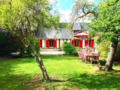 Location meublée maison 148m² Grosley-Sur-Risle (27170) La Pyle