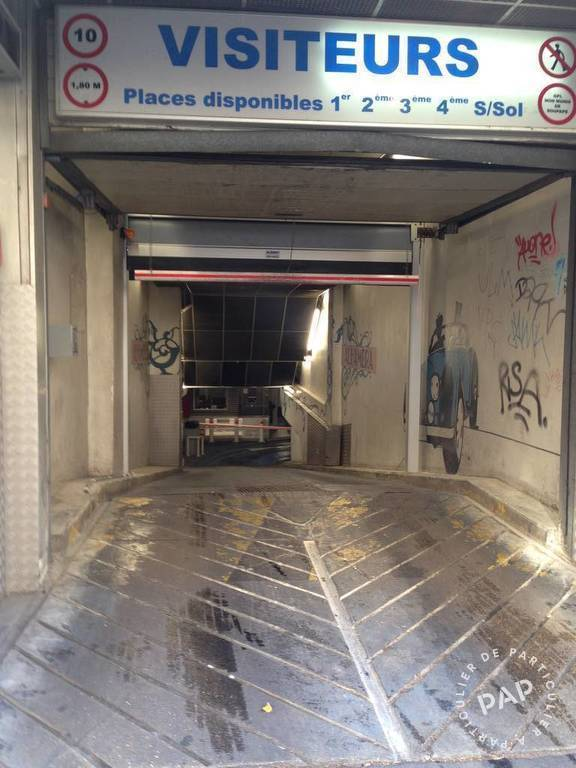 Location garage parking paris 11e 180 e de for Garage paris 11e