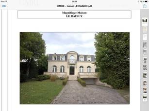 Vente maison 300m� Le Raincy (93340) - 1.350.000€