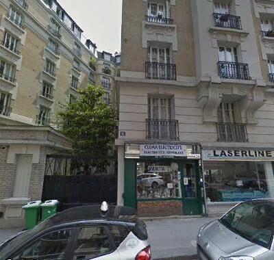 Location meublée studio 9m² Paris 18E - 550€