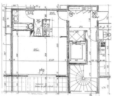 Location meubl�e studio 33m� Montigny-Le-Bretonneux (78180) - 780€