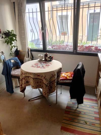 Location meubl�e studio 16m� Paris 20E - 700€