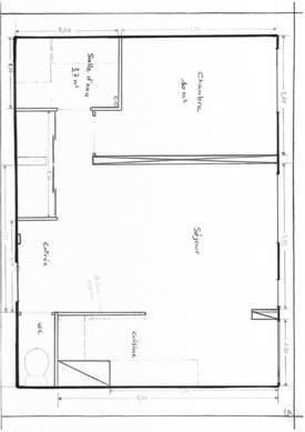 Location appartement 2pi�ces 41m� Paris 19E - 1.170€