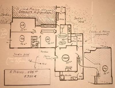 Location appartement 5pièces 135m² Jouy-En-Josas (78350) - 1.950€
