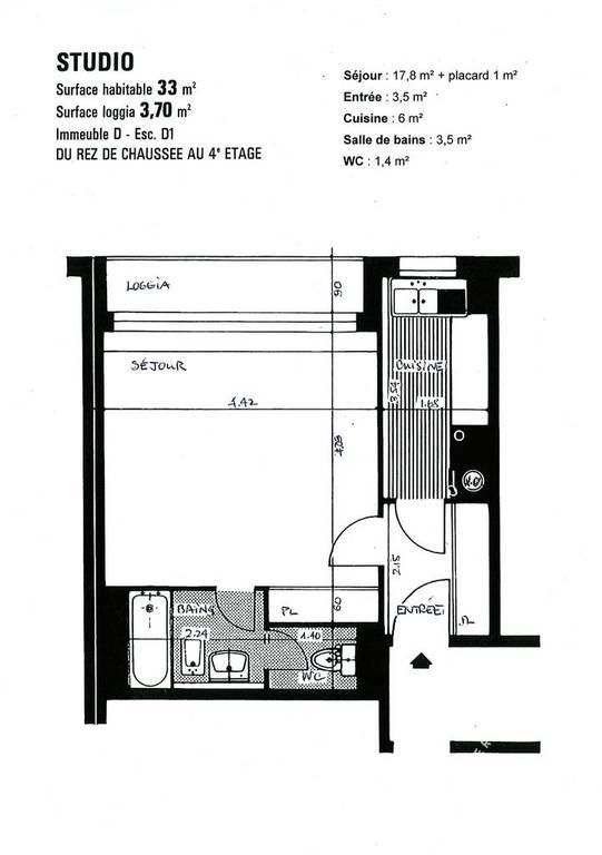 Location studio boulogne billancourt 92100 studio - Location meuble boulogne billancourt ...