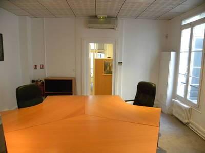 Location bureaux et locaux professionnels 60m² Paris 9E - 2.880€