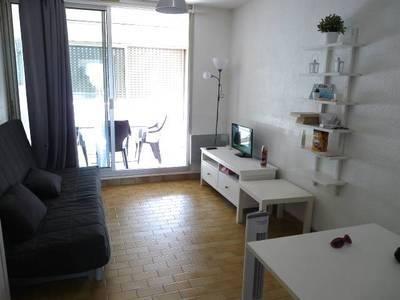 Location meublée studio 30m² Palavas-Les-Flots (34250) - 380€
