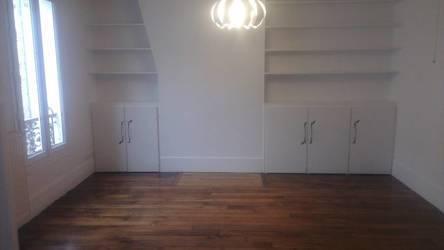 Location appartement 3pièces 43m² Paris 17E - 1.300€