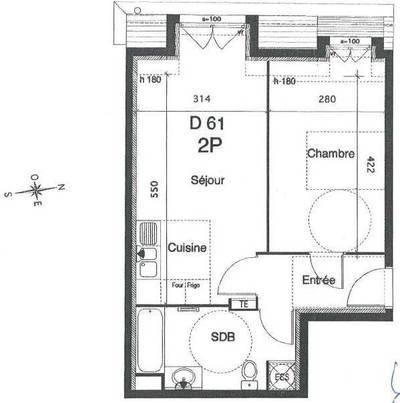 Location appartement 2pièces 46m² Le Plessis-Robinson (92350) - 920€