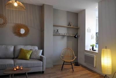 Location meublée appartement 2pièces 52m² Marseille 3E - 690€