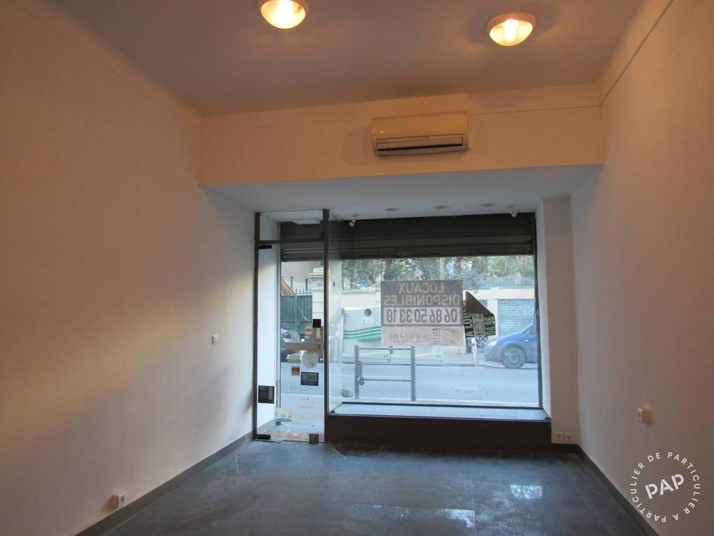 Vente et location Local commercial Marseille 4E 35m² 690€