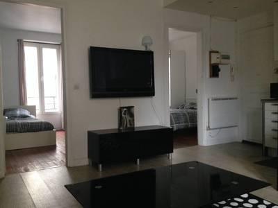 Location meublée appartement 3pièces 45m² Levallois-Perret (92300) - 1.880€