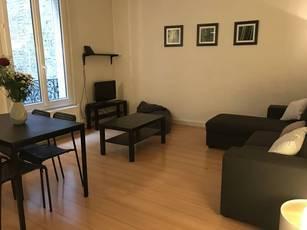Location meublée appartement 2pièces 47m² Paris 15E - 1.400€