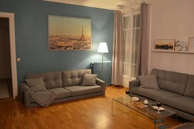 Location meublée appartement 3pièces 69m² Courbevoie (92400) - 1.550€