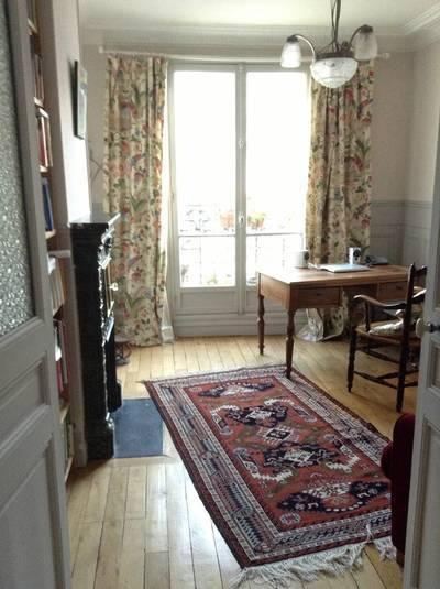 Location meublée appartement 2pièces 37m² Paris 14E - 1.380€