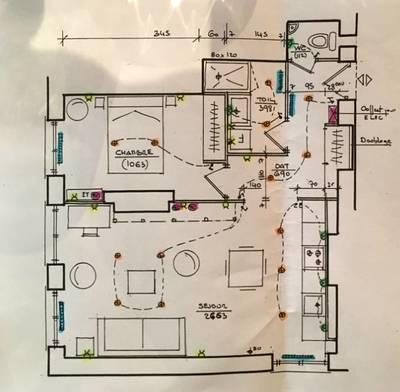 Location meublée appartement 2pièces 53m² Lyon 6E
