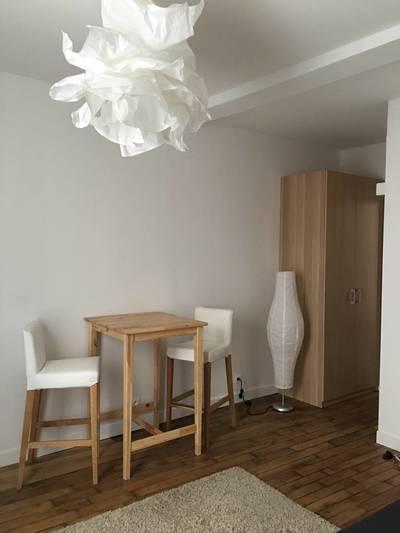 Location meublée studio 23m² Paris 15E - 950€