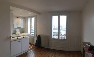 Location appartement 2pièces 37m² Boulogne-Billancourt (92100) - 1.060€