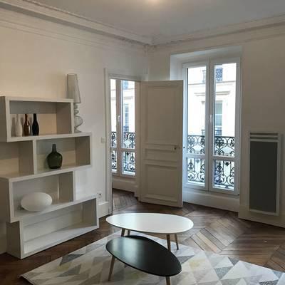 Location meublée maison 68m² Paris 9E - 2.200€