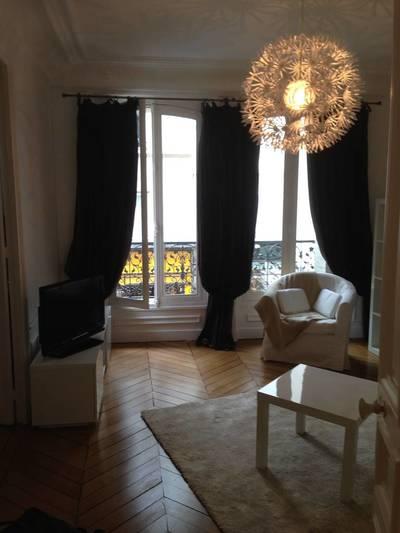 Location meublée appartement 4pièces 65m² Paris 3E - 2.650€