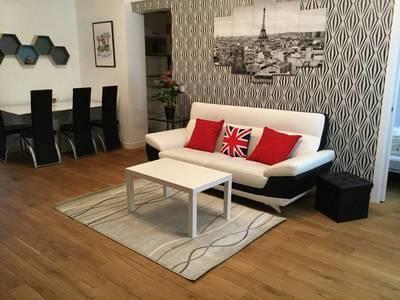 Location meublée appartement 3pièces 70m² Paris 1Er - 2.250€