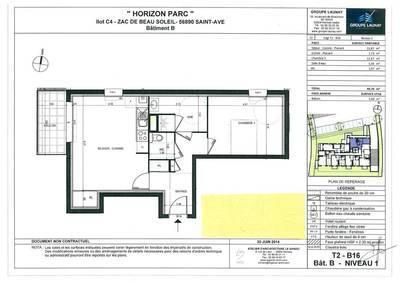 Location appartement 2pièces 50m² Saint-Ave (56890) Noyalo