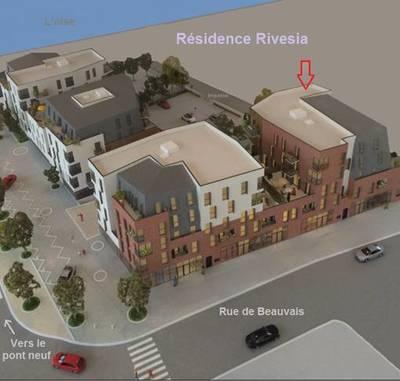 Location appartement 3pièces 54m² Compiegne (60200) Élincourt-Sainte-Marguerite
