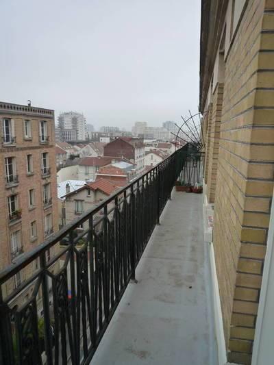 Location meublée appartement 2pièces 36m² Asnieres-Sur-Seine (92600) - 850€