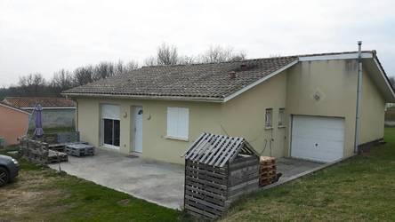 Location maison 81m² Abzac (33230) Francs