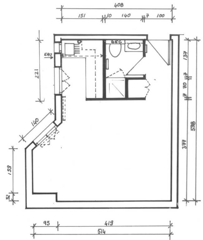 location studio 26 m issy les moulineaux 92130 26 m 772 e de particulier particulier. Black Bedroom Furniture Sets. Home Design Ideas