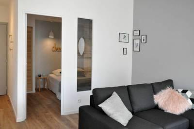 Location meublée appartement 2pièces 42m² Marseille 3E - 620€