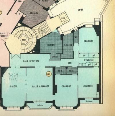 Location appartement 5pièces 128m² Paris 7E - 4.475€