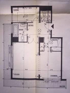 Location meublée appartement 2pièces 48m² Paris 12E - 1.800€