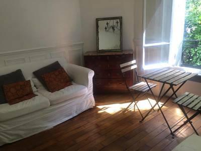 Location meublée studio 25m² Paris 18E - 860€