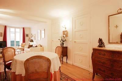 Location meublée appartement 2pièces 70m² Paris 1Er - 2.425€