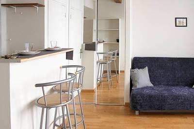 Location meublée studio 24m² Marseille 7E - 560€