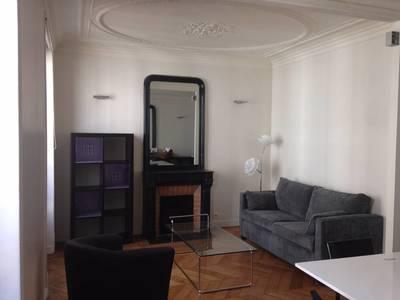 Location meublée appartement 2pièces 52m² Paris 17E - 1.600€