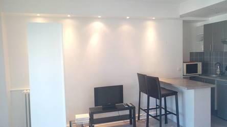 Location meublée studio 21m² Paris 17E - 860€