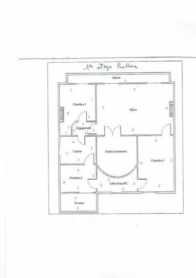 Location appartement 4pièces 100m² Cournonterral (34660) - 920€