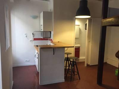 Location meublée studio 22m² Paris 4E - 870€