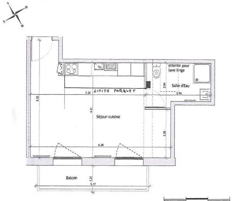 location studio 31 m suresnes 92150 31 m 798 e de particulier particulier pap. Black Bedroom Furniture Sets. Home Design Ideas