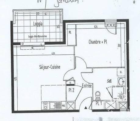 location appartement 2 pi ces 43 m rennes 35 43 m 525 e de particulier particulier pap. Black Bedroom Furniture Sets. Home Design Ideas
